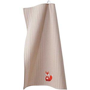 Rico Design Stickpackung Geschirrtuch Fuchs