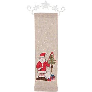 Rico Design Stickpackung Behang Nikolaus 10x32cm