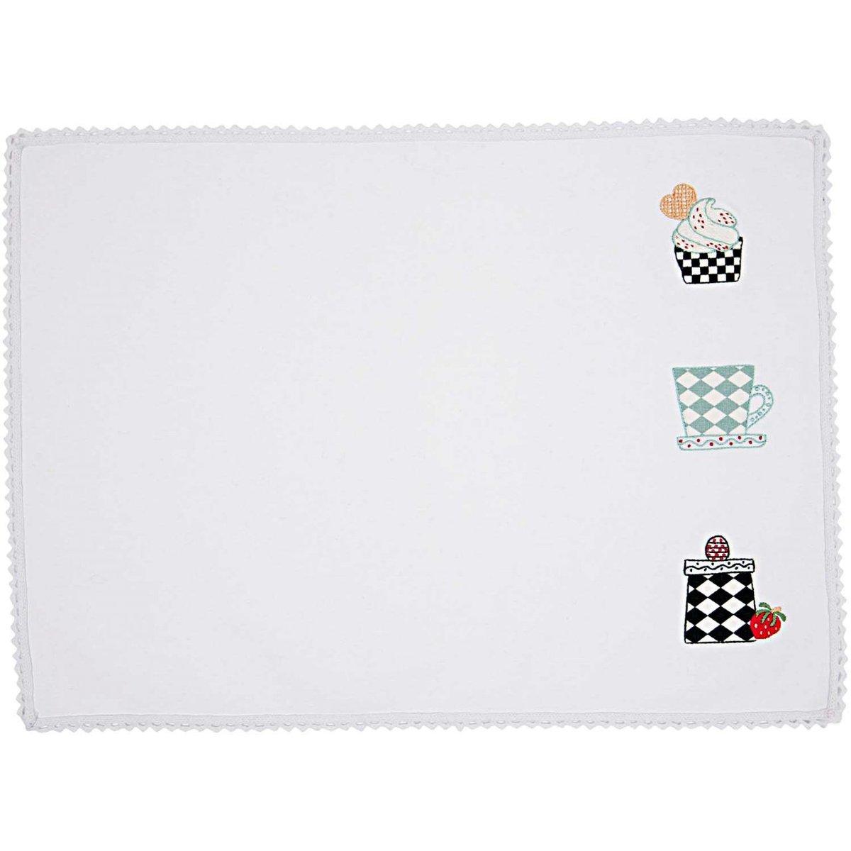 Bild 1 von Rico Design Stickpackung Platzset Geschirr