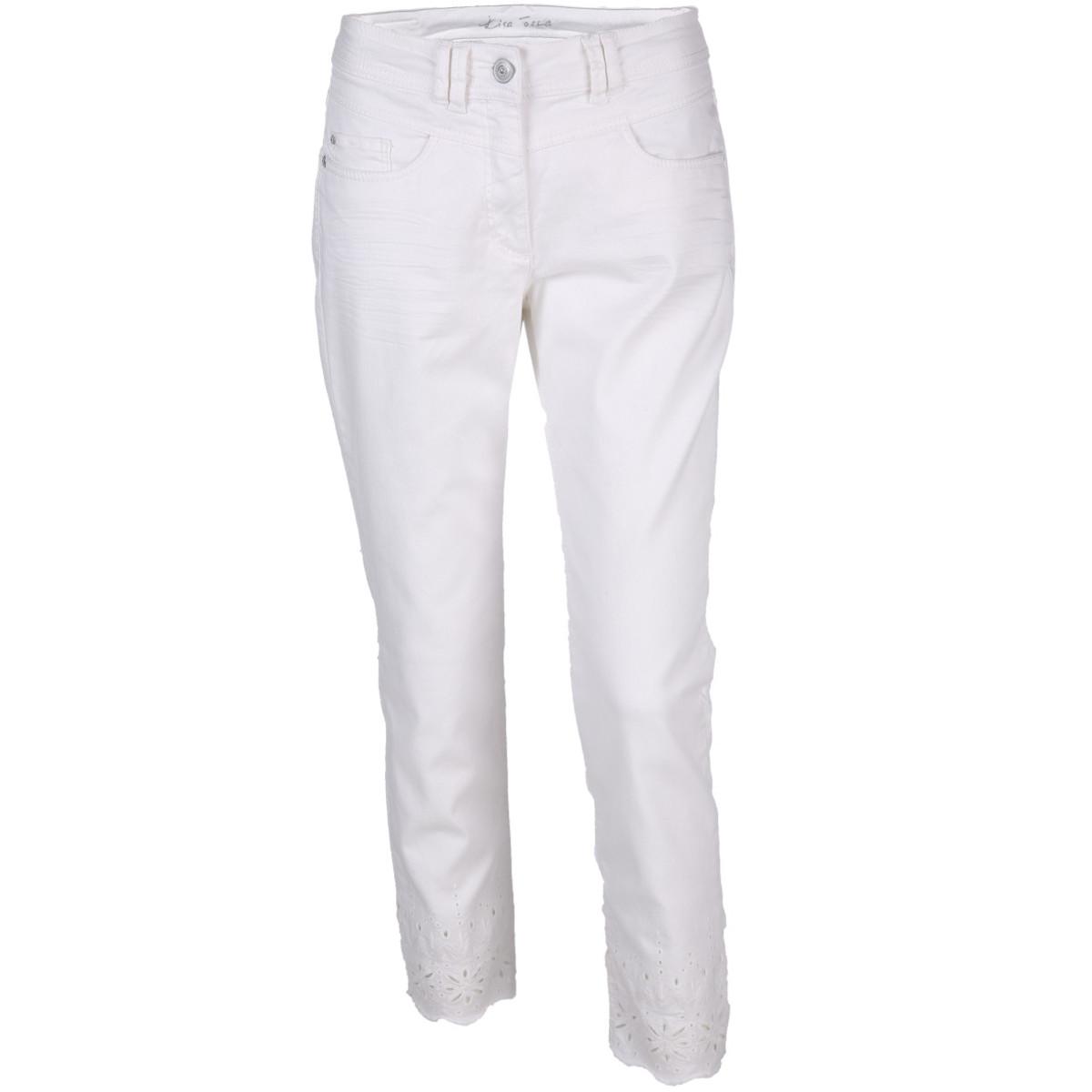 Bild 1 von Damen 7/8 Jeans mit Lochstickerei