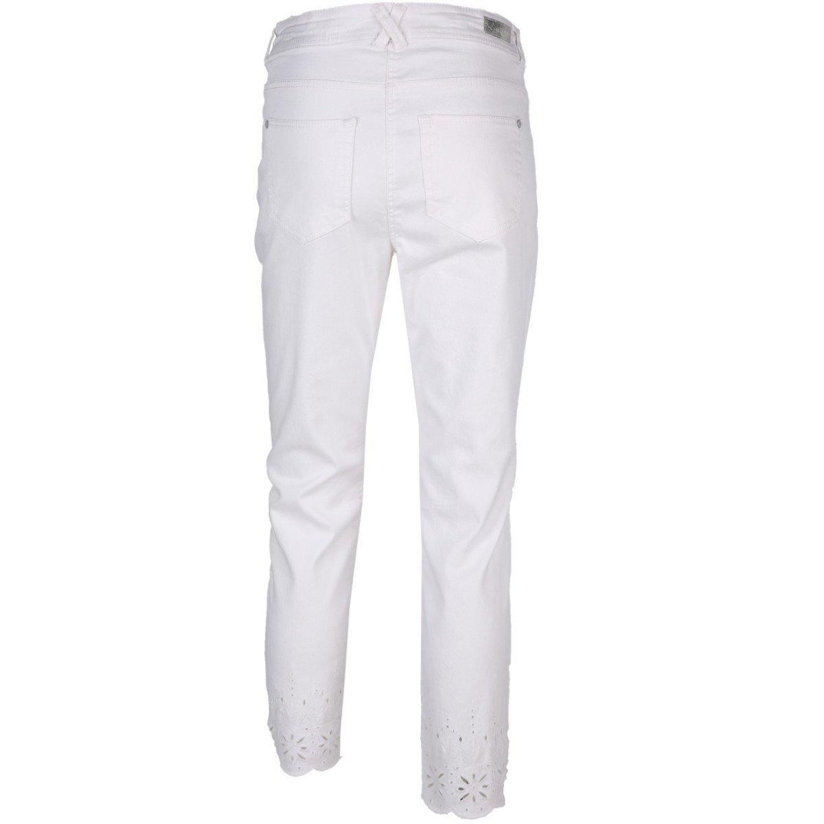Bild 2 von Damen 7/8 Jeans mit Lochstickerei