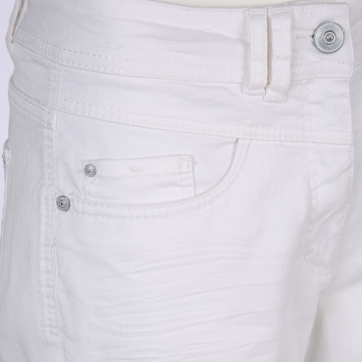 Bild 3 von Damen 7/8 Jeans mit Lochstickerei
