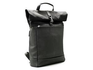 """Jost Autumn Special Kurierrucksack, Backpack für MacBook bis 15"""", schwarz"""