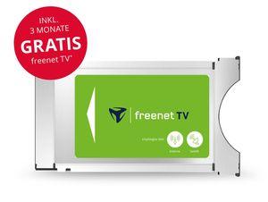 freenet TV DVB-T2 HD/DVB-S CI+ Modul, für Antenne & Satellit