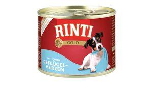 RINTI Hundenassfutter Gold Geflügel-Herzen