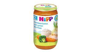 HiPP Menüs ab 12.Monat - Gemüserisotto mit zarter Bio-Pute