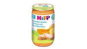 HiPP Menüs ab 12.Monat - Kartoffel-Kürbis-Gemüse mit Bio-Hühnchen