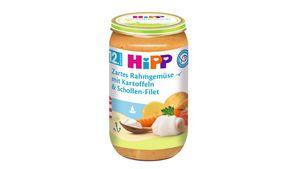 HiPP Menüs ab 12.Monat - Zartes Rahmgemüse mit Kartoffeln und Schollen-Filet