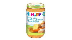 HiPP Menüs ab 12.Monat - Buttergemüse mit Süßkartoffelpüree und Bio-Hühnchen