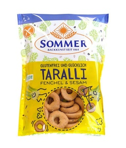 Taralli Fenchel und Sesam Gebäck