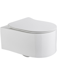 Wand WC »Trento«, Toilette spülrandlos, inkl. WC-Sitz mit Softclose