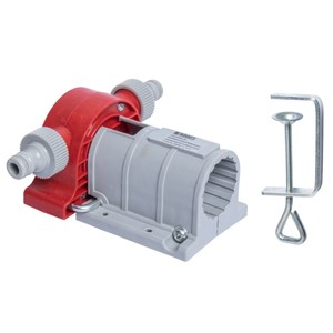 Bohrmaschinen Pumpe aus Kunststoff mit Tischzwinge