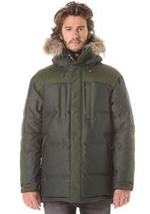 Mountain Works Fat Boy City Fur - Mantel für Herren - Grün