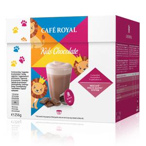 Café Royal Kids Chocolate Kakaogetränk | 16 Nescafé® Dolce Gusto®-System komp. Kapseln