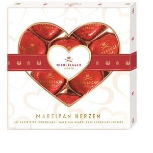 Niederegger Marzipan Herzen 125g