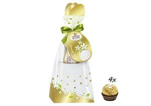 Vase mit 50g Ferrero Rocher