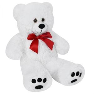 Deuba Teddy weiß Teddybär 50 cm Kuscheltier Plüsch Stofftier