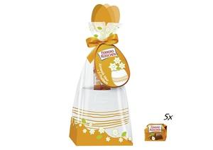 Vase mit 44g Ferrero Küsschen