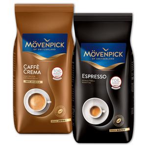 Mövenpick Caffè Crema / Espresso / Gusto Italiano