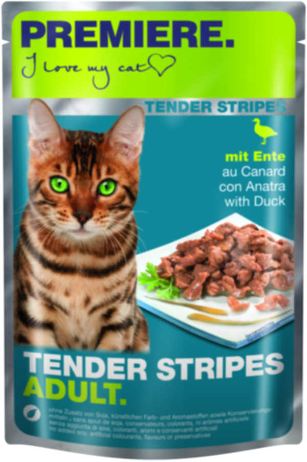 PREMIERE Tender Stripes 28x85g
