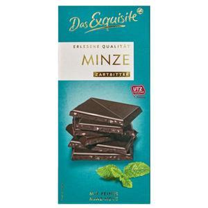 Das Exquisite Minze Zartbitter Schokolade