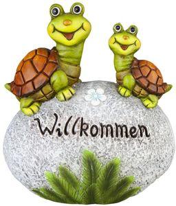 Deko-Schildkröten - aus Magnesia - 27,5 x 15 x 30,5 cm
