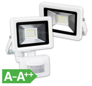 LED-Strahler mit/ohne Bewegungsmelder
