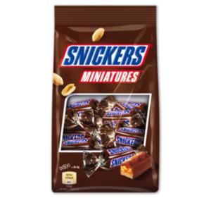 SNICKERS-, TWIX-, BOUNTY oder MARS Miniatures