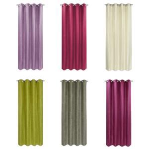 Ösenvorhang FAUX LINEN - farblich sortiert - 140x240 cm