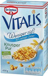 Dr. Oetker Vitalis Knuspermüsli weniger süß 600 g