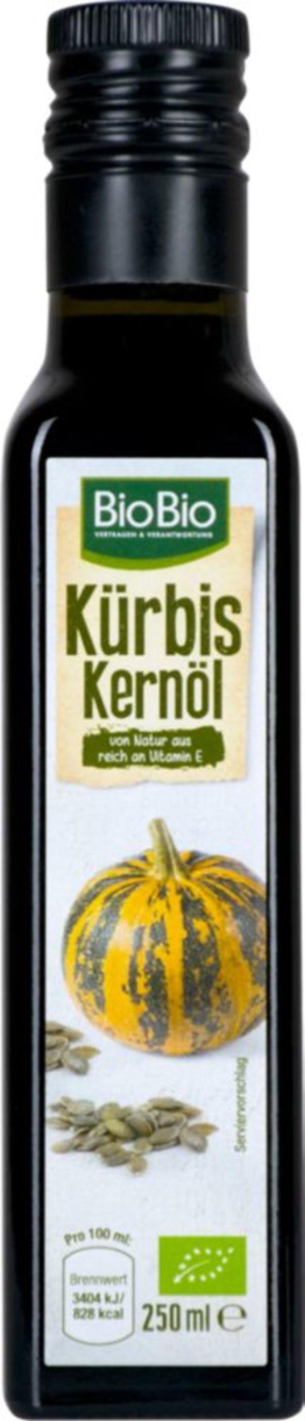 BioBio Kürbiskernöl 250ml