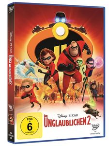 DVD - Die Unglaublichen 2