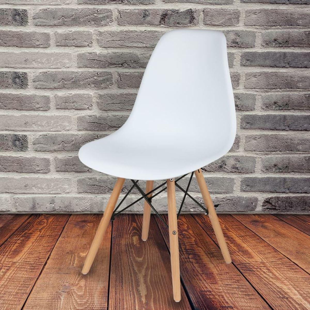 Bild 1 von Esszimmer-Schalenstuhl Weiß