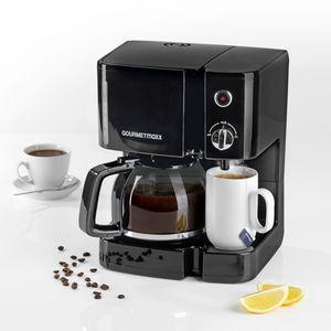 GOURMETmaxx Kaffee- & Teestation 900W schwarz