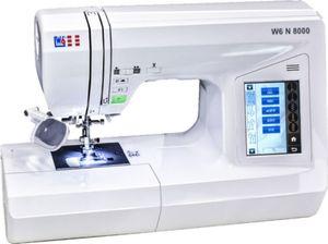 W6 N 8000 Computergesteuerte Nähmaschine mit 504 Programmen