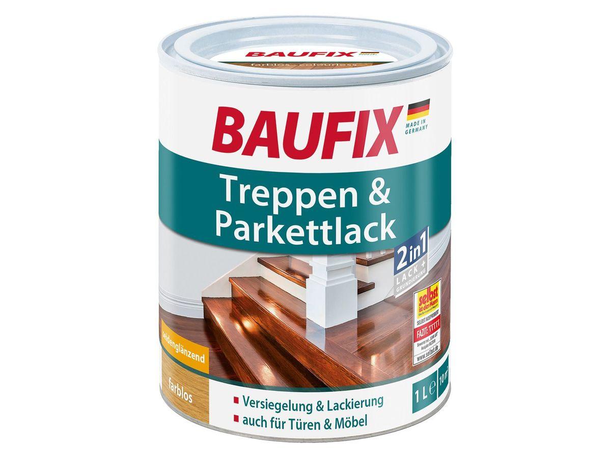 Bild 2 von BAUFIX Treppen- und Parkettpflege / Treppen- und Parkettlack / Hartwachsöl