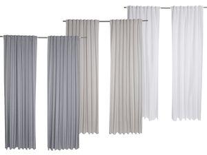 MERADISO® Vorhangschalset, 2-teilig 135 x 254 cm