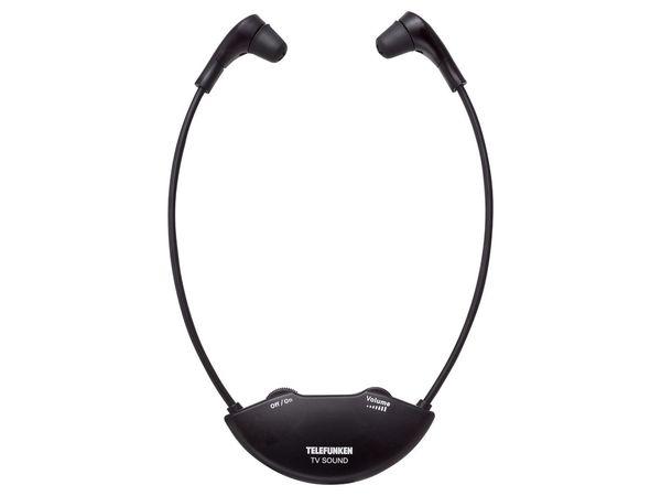 TELEFUNKEN Funk-Kopfhörer mit kabelloser Ladestation