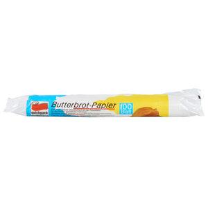 Quickpack Butterbrotpapier 100 Blatt