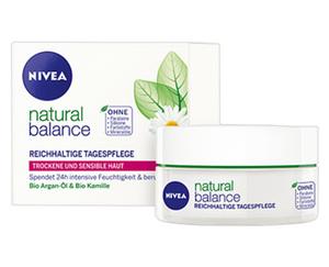 NIVEA natural balance, Tagespflege