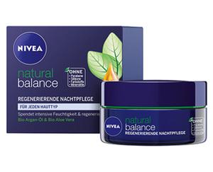 NIVEA natural balance, Nachtpflege