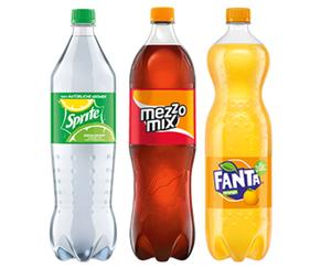 Coca-Cola®/Fanta®/mezzo mix®/Sprite®