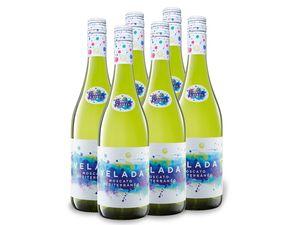 6 x 0,75-l-Flasche Weinpaket Velada Moscato frizzantes, Perlwein