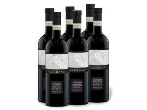 6 x 0,75-l-Flasche Laurana Conero Riserva DOCG, Rotwein
