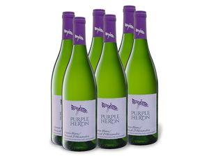 6 x 0,75-l-Flasche Purple Heron Südafrika Chenin Blanc/Muscat trocken, Weißwein