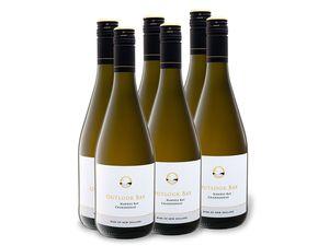 6 x 0,75-l-Flasche Outlook Bay Chardonnay trocken, Weißwein