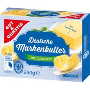 Gut & Günstig Deutsche Markenbutter