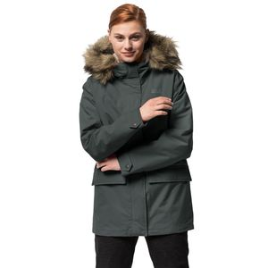 Jack Wolfskin Winterjacke Frauen Helsinki Jacket M greenish grey