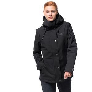 Jack Wolfskin Winterjacke Frauen Mora Jacket M schwarz