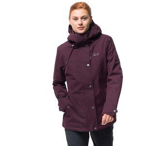 Jack Wolfskin Winterjacke Frauen Mora Jacket L violett